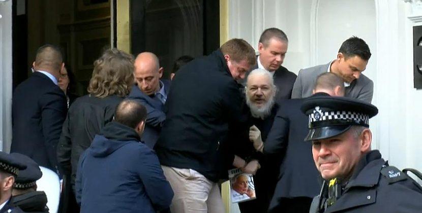 Φυλακίζουν τον Ασάνζ για να εγκληματούν ανενόχλητοι στο μέλλον