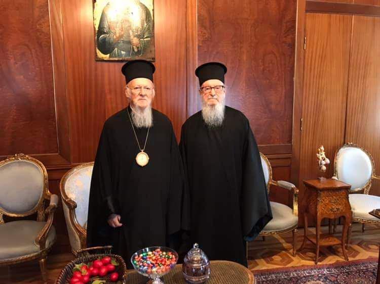 Παραίτηση Αρχιεπισκόπου Αμερικής Δημητρίου