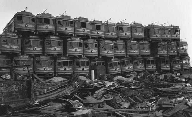 Το ξήλωμα των τραμ από τα οργανωμένα συμφέροντα στις ΗΠΑ