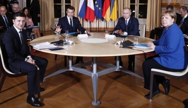 Συνομιλίες Πούτιν – Ζελένσκι