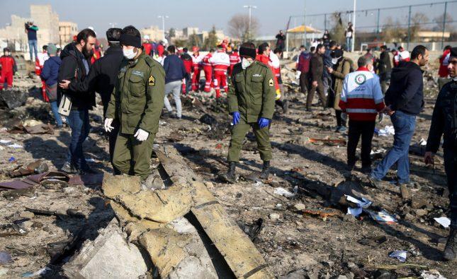 Η Τεχεράνη παραδέχεται ότι από λάθος καταρρίφθηκε το ουκρανικό αεροσκάφος