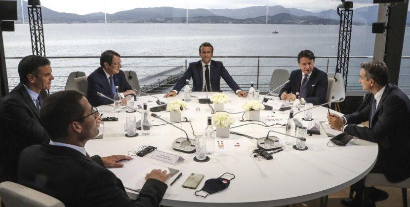 Σύνοδος Κορσικής: Ισπανία και Ιταλία απέτρεψαν ισχυρή προειδοποίηση για κυρώσεις κατά Τουρκίας