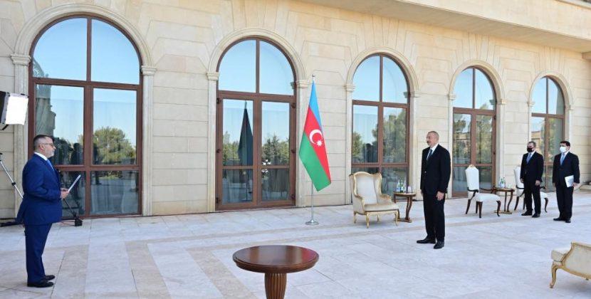 Πλήρης συμμόρφωση του Αζέρου Προέδρου με τις τουρκικές θέσεις