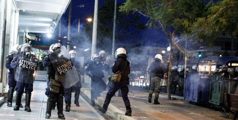 Αστυνομία, θεμιτή και αθέμιτη βία