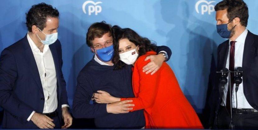 Μεγάλη εκλογική νίκη της απερχόμενης διοίκησης στη Μαδρίτη