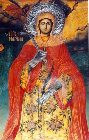 Ἁγία Μαρίνα: Μαρτύρησε ἀψηφώντας πατρικὴ καὶ κρατικὴ ἐξουσία