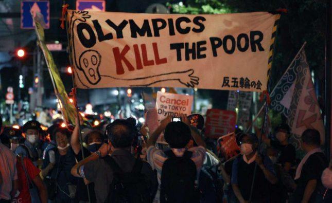 Τόκιο: Ολυμπιάδα με διαδηλώσεις διαμαρτυρίας