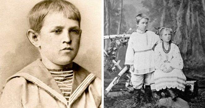 Ἡ παιδική ἡλικία τοῦ Ντοστογιέβσκι